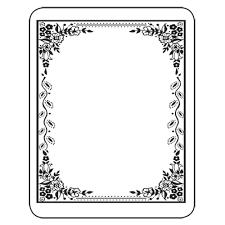 free label template for word bookplates laser u0026 inkjet bookplates elegant border 150 pkg