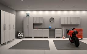 Man Cave Led Lighting by Home Design Modern Garage Man Cave With Ceiling Lights And Gray