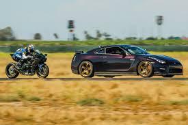 nissan gtr x specs kawasaki h2r vs 1350hp nissan gtr 1 2 mile airstrip race 3 youtube