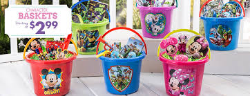 filled easter baskets boys easter baskets for kids plush baskets plastic buckets party city