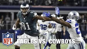 eagles winning drive vs the cowboys in o t week 9 nfl