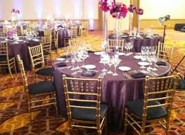 Table And Chair Rental Chicago Satin Chair Covers Rental Chicago And Suburbs On Onewed