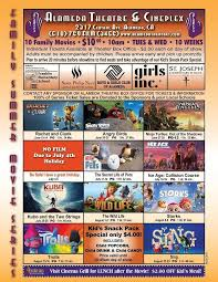 alameda theatre family summer movie series 2017