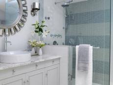 mosaic tile bathroom ideas bathroom ideas designs hgtv