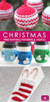 157 best knit christmas holiday patterns images on pinterest