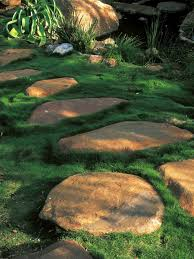 small family garden design natural textured garden flooring hgtv