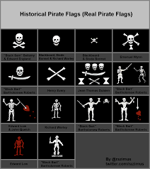 Picture Of A Pirate Flag More Historical Pirate Flags To Add To The Collection Pirate
