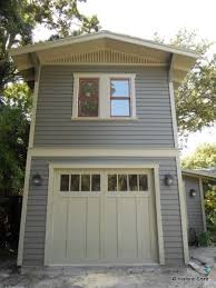 TwoStory OneCar Garage Apartment Historic Shed Tiny - Garage designs with apartments