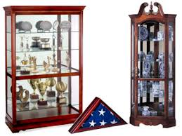 Wooden Wall Display Cabinets Wood Display Cases Curio Cabinet Floor Standing U0026 Wall Mount