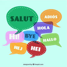 greetings in different languages vector free