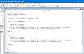 how to customise excel reports using macros visual basic and