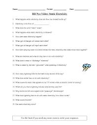 bill nye the science guy worksheets worksheets releaseboard free