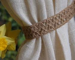 Where To Buy Curtain Tie Backs Curtain Pull Back Etsy