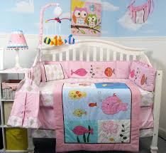 Aquarium Bed Set Soho Fish Story Baby Crib Bedding Set With