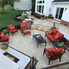 Travertine Patio Travertine Patios Travertine Paths Travertine Stairs The