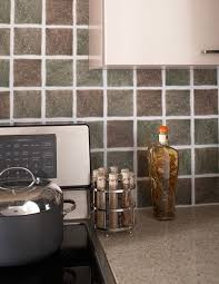 Peel And Stick Kitchen Floor Tiles - amazing manificent peel and stick vinyl tile backsplash peel and