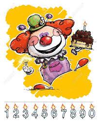wedding invitation clown birthday greeting card vector show clowns artistic illustration of a clown carrying a birthday