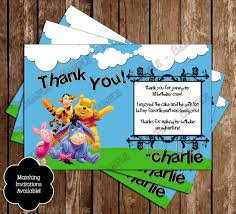 Birthday Invitation Cards For Friends Novel Concept Designs Winnie The Pooh And Friends Movie Ticket