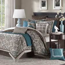 Turquoise Bed Frame Sunflower Pattern Grey Comforter Sets Queen Design Ideas For Dark