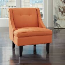 furniture clarinda accent chair in orange local furniture