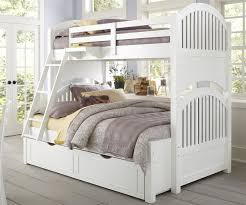 comfort full over full bunk beds white modern bunk beds design
