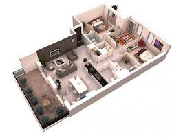 3d floor plans u2014 bhq design australia 3d photo realistic