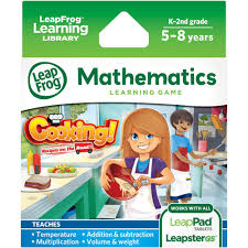 leapfrog explorer learning game cooking recipes on the road