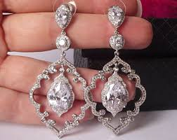 Sparkly Chandelier Earrings Chandelier Earrings Etsy
