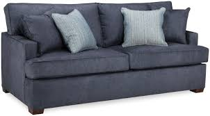 sleeper sofa with memory foam mattress denim queen sleeper sofa w gel memory foam mattress rotmans