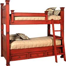Solid Wood Bunk Beds With Storage Biscayne Designs Custom Design Solid Wood Beds Lisette Wood