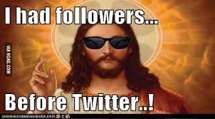 Cool Jesus Meme - hipster jesus i had followers before twitter living to help other