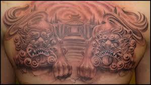 foo dog lion 40 ultimate foo dog tattoo designs