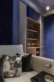 media room with upholstered walls london mille couleurs london