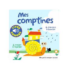 si e auto comptine livre mes comptines imagier sonore pour enfant de 1 an à 3 ans