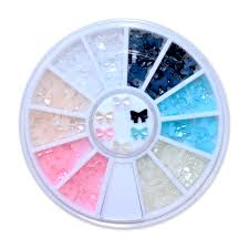 nail art pearls wheel colors reviews online shopping nail art