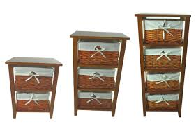 Wood Storage Cabinets With Drawers Pine Wooden 2 3 4 Drawer Cupboard Cabinet Laundry Basket Chest