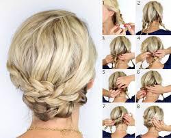 Hochsteckfrisurenen Mittellange Haar Leicht by Lässige Hochsteckfrisuren Mittellange Haare Drei Zöpfe Flechten