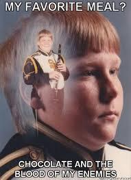Clarinet Player Meme - ptsd clarinet boy know your meme