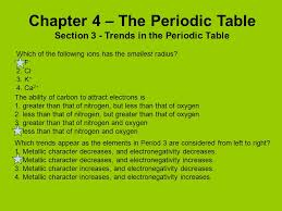 what ability did the periodic table have chapter 4 the periodic table ppt video online download