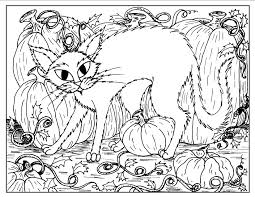 halloween black cat coloring page archives gallery coloring page