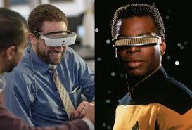 Blind People Glasses Esight Helps Blind People See Like Geordi Laforge U0027s Visor On Star