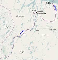 russia map border countries russia border