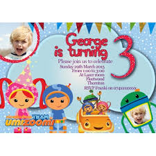 team umizoomi party supplies team umizoomi party invitations thank you