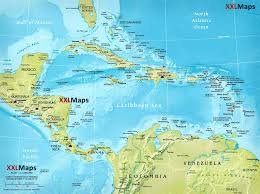 Maps Of Central America by Physical Map Of Central America Free Download For Smartphones