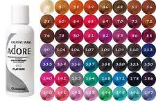 raw hair dye color chart semi permanent hair color ebay