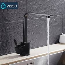 popular kitchen taps black buy cheap kitchen taps black lots from everso 5 color 360 rotate kitchen sink faucet kitchen mixer tap kitchen faucet black kitchen taps