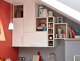 la cuisine au des rangements dans la cuisine jusqu au plafond leroymerlin