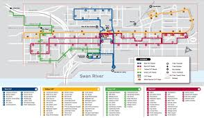 Underground Atlanta Map by Green Cat Perth Bus Map Map Of Green Cat Perth Bus Australia
