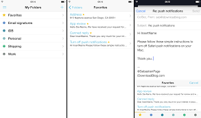 crisp a clean and simple email template keyboard for ios