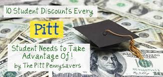 Pitt Campus Map The Pitt Pennysavers Blog 10 Student Discounts Every Pitt Student